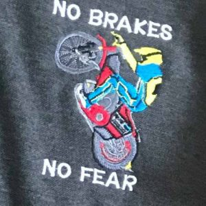 NO BRAKES NO FEAR RANGE